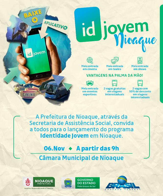 Imagem 270 - Prefeitura de Nioaque lança Programa ID Jovem para garantir direitos a juventude